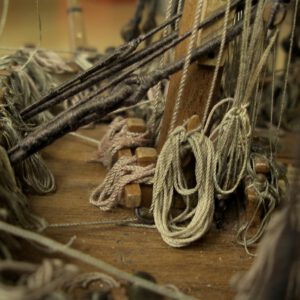 Cotton rope, beige
